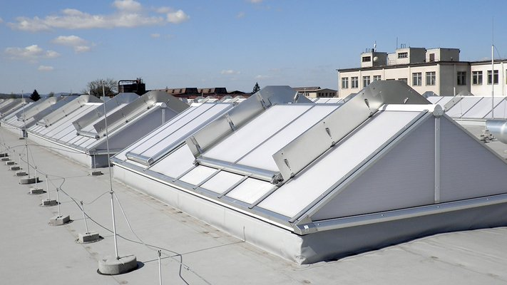 LAMILUX Continous Rooflight S - Silon, Czech Republic